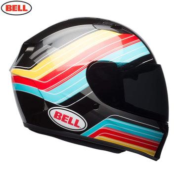 Bell Street 2018 Qualifier STD Adult Helmet Helmet in Command Blue / Red / Yellow