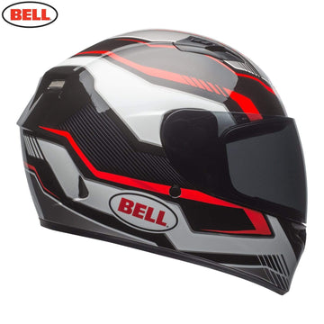 Bell Street 2018 Qualifier STD Adult Helmet in Torque Black / Red