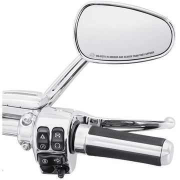 Harley-Davidson® Airflow Hand Grips - Chrome Finish