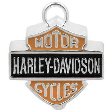Harley-Davidson Accessories Harley-Davidson® Big Bar and Shield Orange Enamel Ride Bell