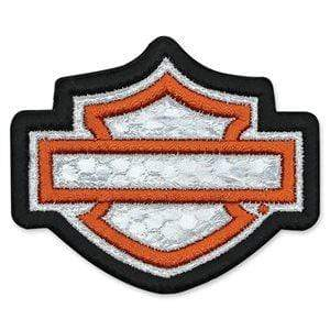 Harley-Davidson® blank Bar & Shield Reflective Emblem