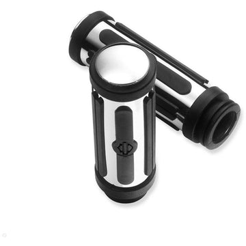 Harley-Davidson ® Chrome and Rubber Hand Grips