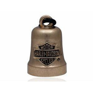 Harley-Davidson Accessories Harley-Davidson® Gold Bar and Shield Ride Bell