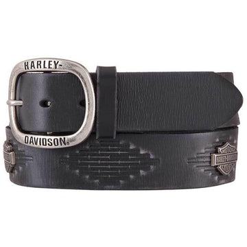 Harley-Davidson Accessories Harley-Davidson® Men's Native Path Genuine Leather Belt