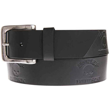 Harley-Davidson® Men's Phantom Willie G Skull Belt