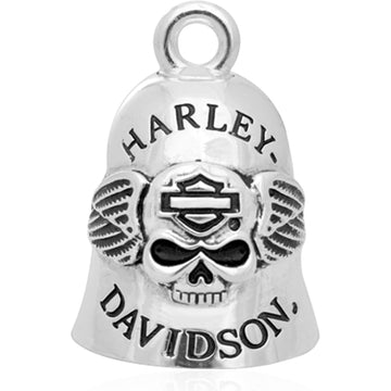 Harley-Davidson Accessories Harley-Davidson® Skull and Wings H-D Ride Bell