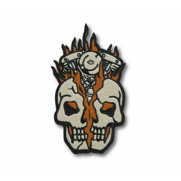 Harley-Davidson Accessories Harley-Davidson® Skull Bust Iron-On Patch