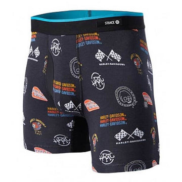 Harley-Davidson Accessories Harley-Davidson® Stance Men's Flash Racer Silky Boxer Brief