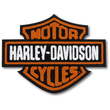 Harley-Davidson Accessories Harley-Davidson® Vintage Bar & Shield Logo Iron-On Patch