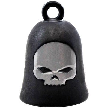 Harley-Davidson Accessories Harley-Davidson® Willie G Skull Matte Black Ride Bell