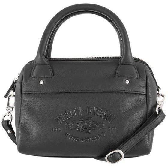 Harley-Davidson® Women's Wicked Roses Leather Satchel Purse