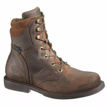 Harley-Davidson® Men's Darnel CE Brown Laced Boots - Brown