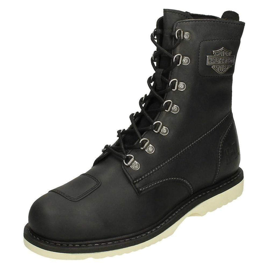 Harley-Davidson® Men's Lottman Black Motorcycle Boots