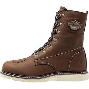 Harley-Davidson® Men's Lottman Scrubland Brown Motorcycle Boots