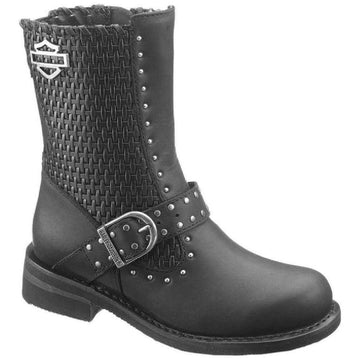 Harley-Davidson® Women's Abbie Black Leather Boots