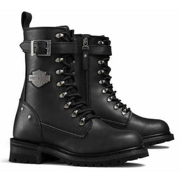Harley-Davidson® Women's Black Calvert CE Certified Leather Boots