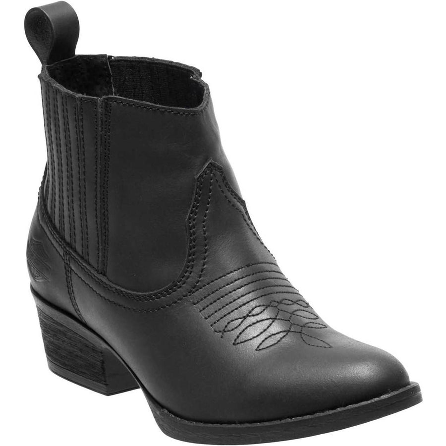 Harley-Davidson Boots Harley-Davidson® Women's Curwood 4.5-Inch Black or Brown Fashion Booties