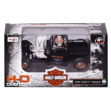 Harley-Davidson® 1:64 Scale Custom Car/Chevy Pick-up
