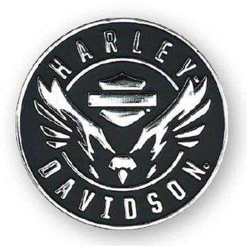 Harley-Davidson Collectables Harley-Davidson® 2D Die Cast Velocity Eagle Pin