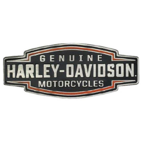 Harley-Davidson Collectables Harley-Davidson® 2D Die Cast Velocity Text Pin