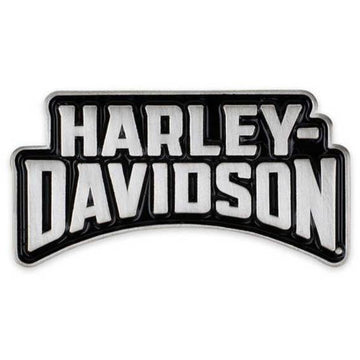 Harley-Davidson Collectables Harley-Davidson® 2D Die Struck Insignia H-D Pin - Polished Silver Effect