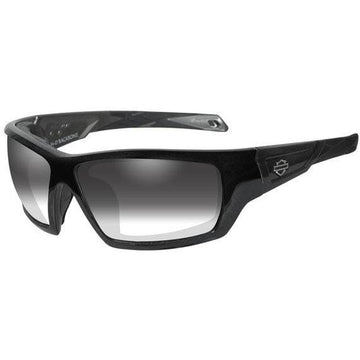 Harley-Davidson® Men's Backbone Light Adjusting Sunglasses, Black Frame