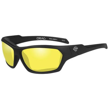 Harley-Davidson® Men's Drag Gasket Sunglasses, Yellow Lens