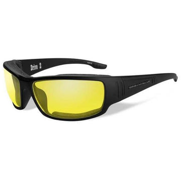 Harley-Davidson® Men's Drive2 Sunglasses, Yellow Lens/Matte Black Frame