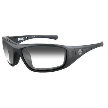 Harley-Davidson® Men's Tank Sunglasses, Light Adjusting Smoke Gray Lens WileyX