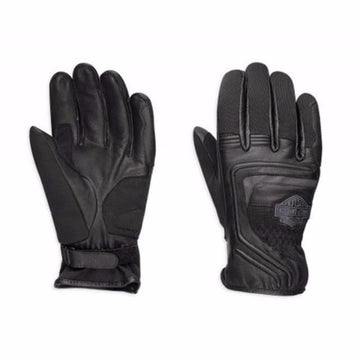 Harley-Davidson Bar & Shield Leather & Mesh Motorcycle Gloves