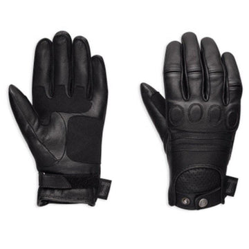 Harley-Davidson® Women's #1 Skull Leather Motorcycle Gloves