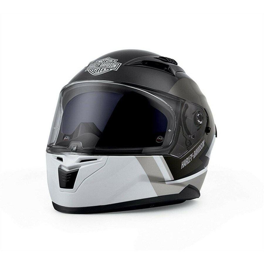 Harley-Davidson® Killian M05 Full Face Helmet Black/White