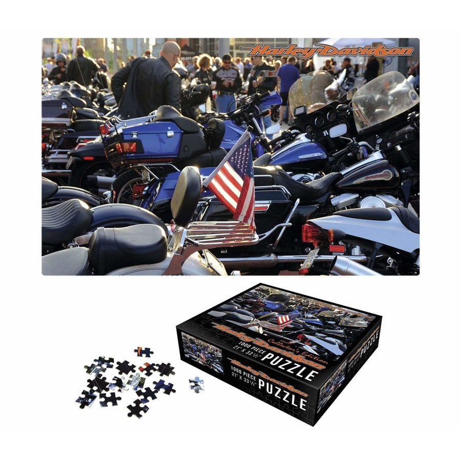 Harley-Davidson Homeware Harley-Davidson® 1000 Piece Puzzle Jigsaw Collectors Edition