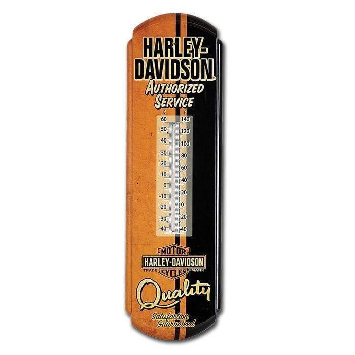 Harley-Davidson® Authorized Service Tin Thermometer