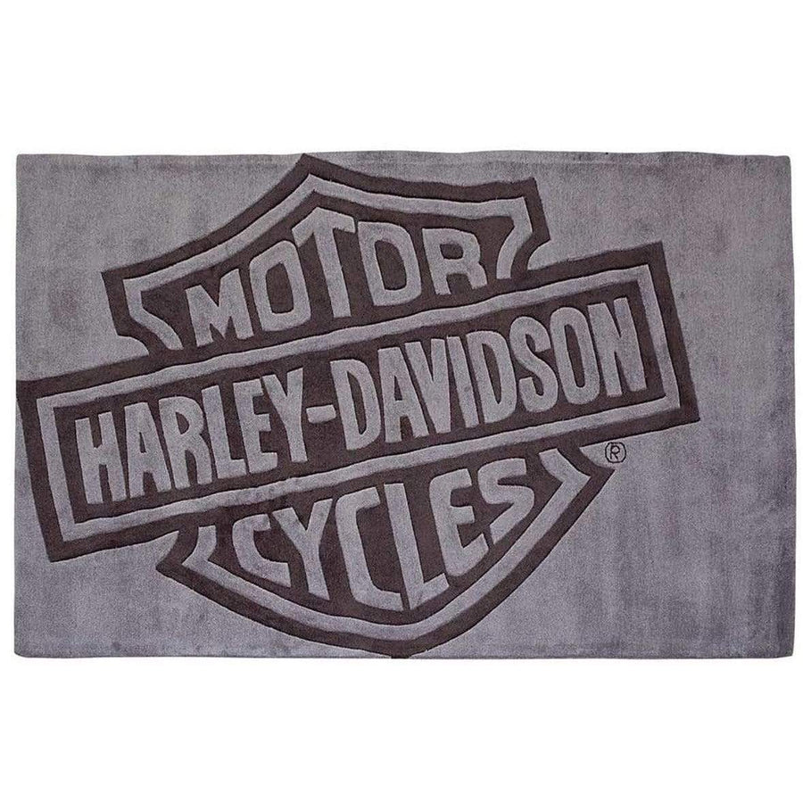Harley-Davidson® Bar & Shield Large Area Rug