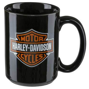 Harley-Davidson Homeware Harley-Davidson® Classic Logo Orange & Black Bar & Shield® Mug