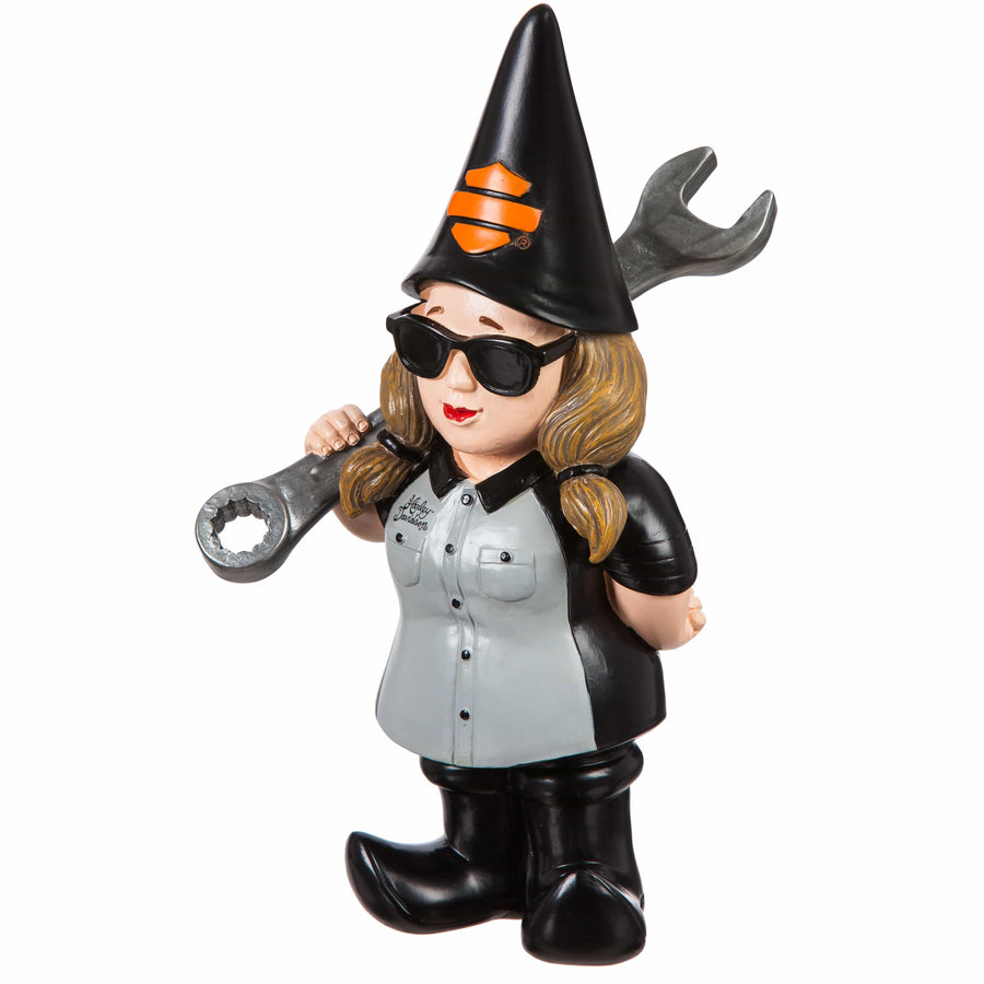 Harley-Davidson® Garden Lady Gnome HD Mechanic