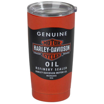 Harley-Davidson Homeware Harley-Davidson® Oil Can Stainless Steel Insulated Travel Mug