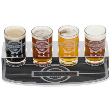 Harley-Davidson® Rider Tasting Flight Glass Set