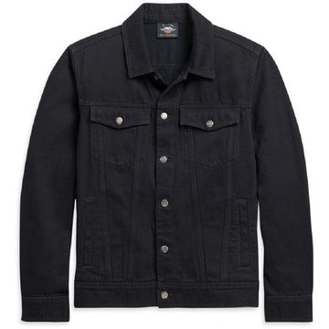 Harley-Davidson Jackets Harley-Davidson® Men's Black Denim Jacket