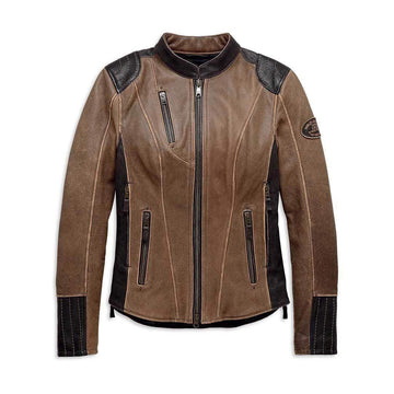 Harley-Davidson® Women's H-D® Triple Vent System Gallun Leather Jacket