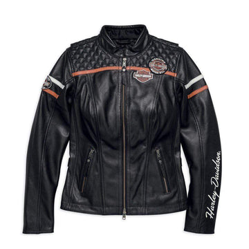 Harley-Davidson® Women's Miss Enthusiast Leather Jacket