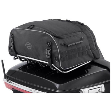 Harley-Davidson® Onyx Premium Luggage Collapsible Tour-Pak Rack Bag