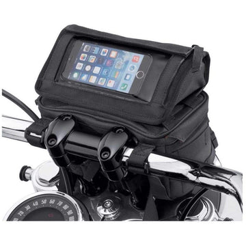 Harley-Davidson® Overwatch Large Handlebar Bag, Universal Fit - Black