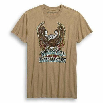 Harley-Davidson T-Shirts Harley-Davidson® Men'Old-School Eagle Slim Fit T-Shirt