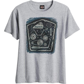 Harley-Davidson® Newmarket MC Parts Youth Dealer T-Shirt