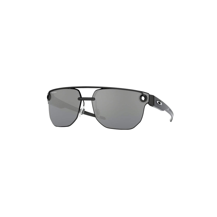 Oakley Eyewear Oakley Chrystl Sunglasses in Polished Black| Prizm Black Lens