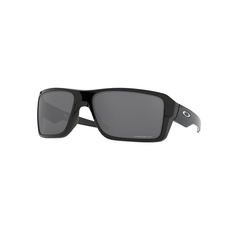Oakley Eyewear Oakley Double Edge Sunglasses in Polished Black| Prizm Black Polarized Lens