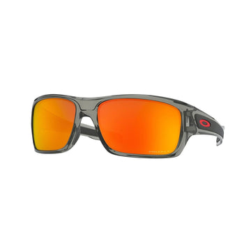 Oakley Eyewear Oakley Turbine Sunglasses in Grey Ink| Prizm Ruby Polarized Lens