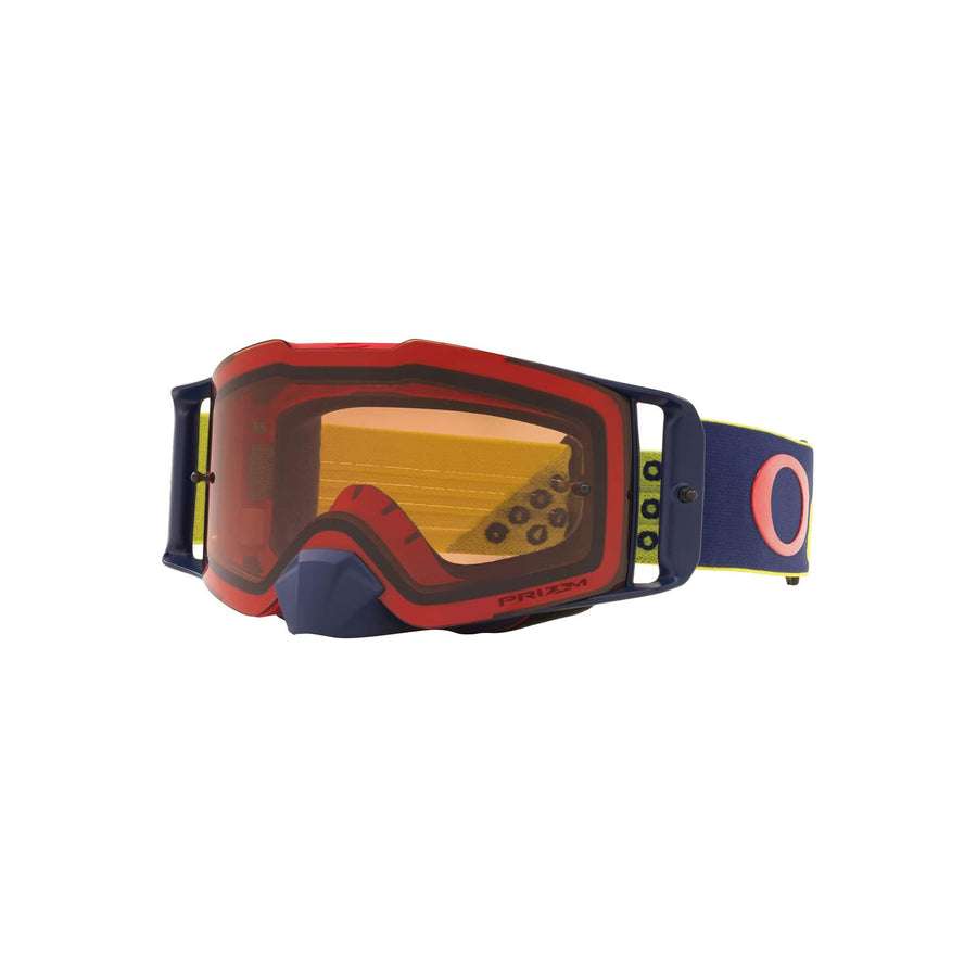 Oakley Goggles Oakley Front Line Goggle in Heritage B1B Red Yellow| Prizm MX Bronze Lens